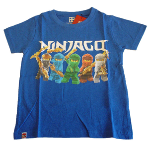 Lego T-Shirt blau Ninjago