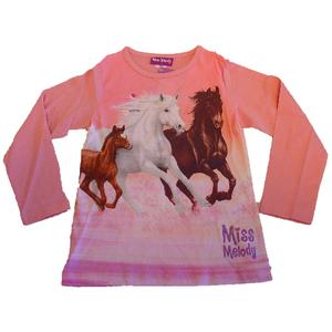Miss Melody Shirt Langarm rosa