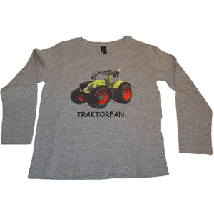 Eveline Strasser - Haubenhex - Shirt Langarm Traktor