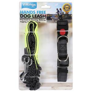 Jogging Hundeleine mit Ruckdämpfer