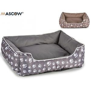 Haustier Bett 61 x 52cm braun