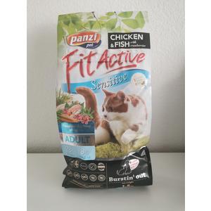Katzenfutter Panzi Fitactiv Sensitive 1,5kg