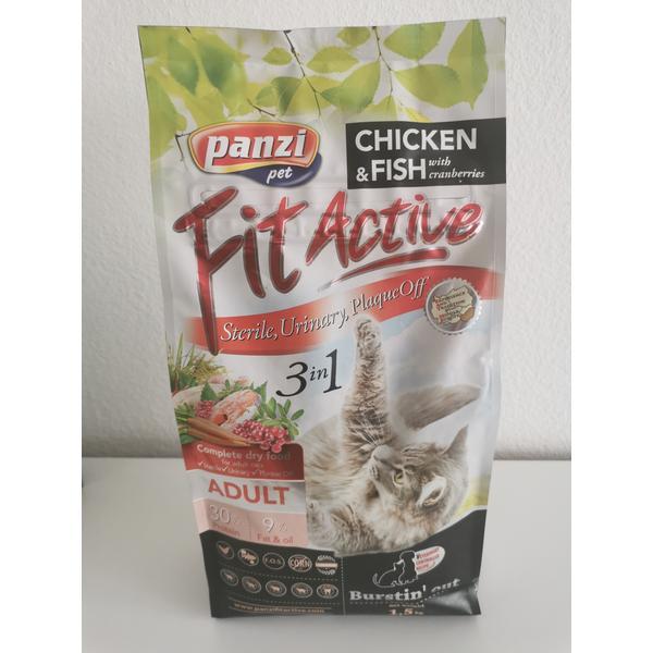 Katzenfutter Panzi Fitactiv 3in1 1,5kg