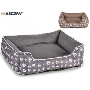 Haustier Bett 61 x 52cm grau