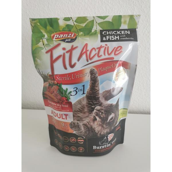 Katzenfutter Panzi Fitactiv 3in1 300gr