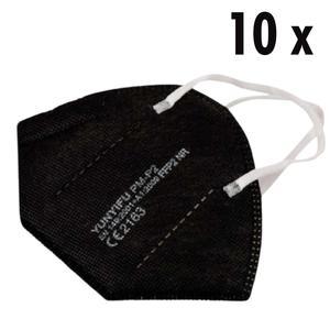 10 x FFP2 Masken schwarz