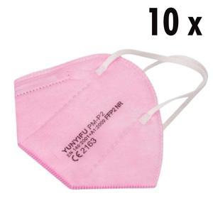 10 x FFP2 Masken rosa