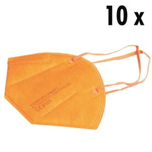 10 x FFP2 Masken orange