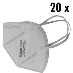 20 x FFP2 Masken weiß