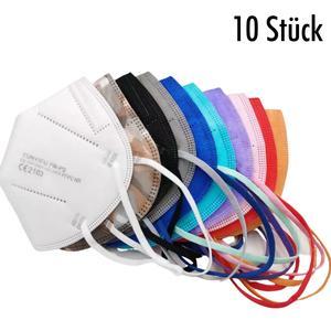 FFP2 Masken Set in 10 verschiedenen Farben