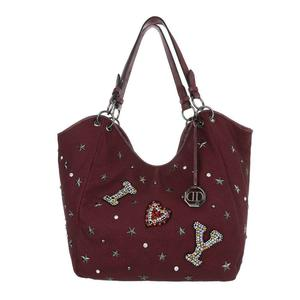 Damen Shopper-Rot