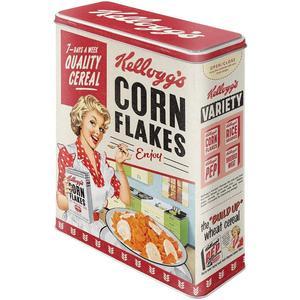 Kelloggs Corn Flakes Quality Cereal - Vorratsdose