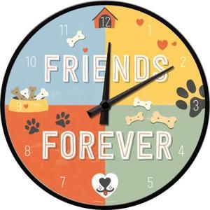 Friends Forever - Wanduhr