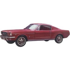 Ford Mustang Fastback - Metallschild
