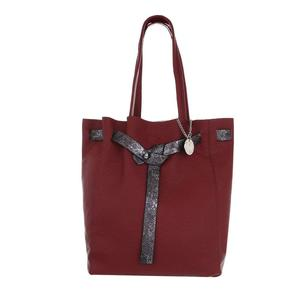 Damen Shopper - Weinrot 2in1