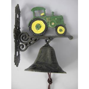 Wandglocke-Traktor Grün