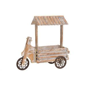 Dreiradwagen mit Dach