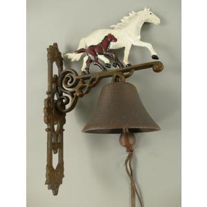 Wandglocke Pferd