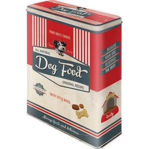 Dog Biskuits - Pfoten Schild - Vorratsdose