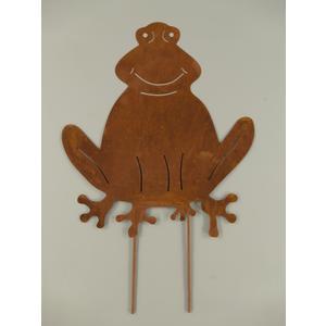 Gartenstecker-Frosch