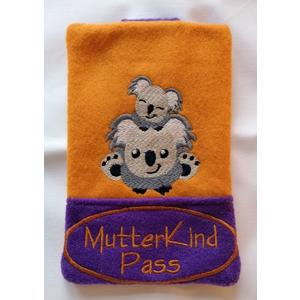 "? Mutter-Kind Pass Hülle ""Koala"" ?"