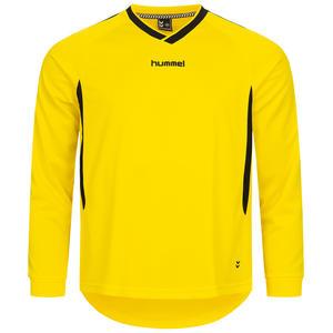 Hummel Langarm Sport Trikot Gelb