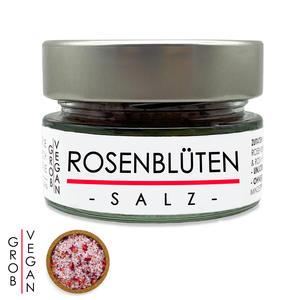 Rosenblüten Salz - Kräutersalz 70g