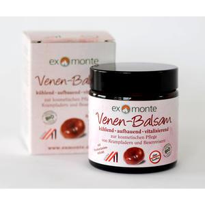 Venen-Balsam kühlend • aufbauend • vitalisierend zur kosmetischen Pflege von Krampfadern und Besenreisern