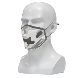 Nano FFP2 R D Maske camouflage   Premium FFP2 Maske mit spezial Nano Einlage   bis zu 20 x waschbar - wiederverwendbar   CE + ISO zertifiziert   extra atmungsaktiv aus Baumwolle
