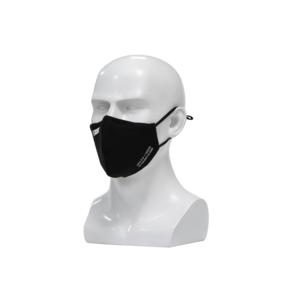 Nano FFP2 R D Maske schwarz   Premium FFP2 Maske mit spezial Nano Einlage   bis zu 20 x waschbar - wiederverwendbar   CE + ISO zertifiziert   extra atmungsaktiv aus Baumwolle