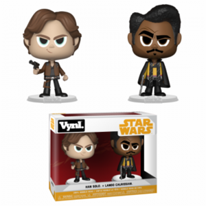 Funko Solo: A Star Wars Story – Han & Lando 2-Pack Vinyl Figuren