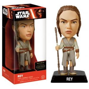 Funko Wacky Wobblers Star Wars Episode VII The Force Awakens – Rey Wackelkopf