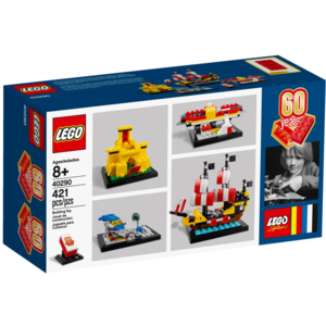 Lego 40290, Limited Edition, 60 Years of the LEGO Brick