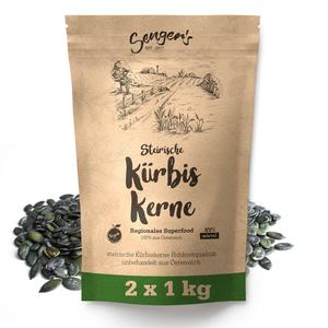 2kg Steirische Kürbiskerne Kürbiskern Rohkostqualität natur unbehandelt vegan geschält