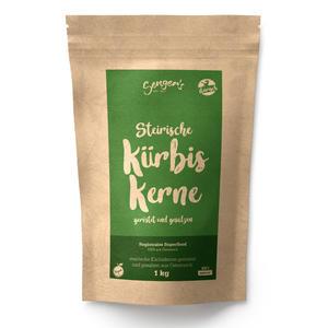 Steirische Kürbiskerne geröstet und gesalzen natürlich, vegan 1kg