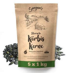 5kg Steirische Kürbiskerne Kürbiskern Rohkostqualität natur unbehandelt vegan geschält