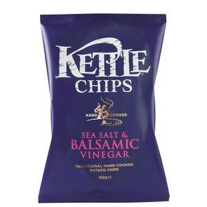 Kettle Chips Meersalz&Balsamico 150g