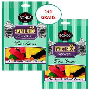 BONDS Sweet Shop Wine Gums 150g