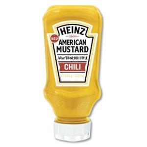 Heinz American Mustard Chili 220ml