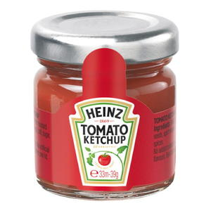 Heinz Tomatenketchup Roomservice Gläschen 10x39g