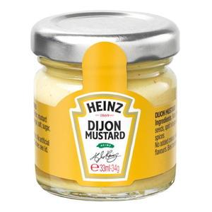 Heinz Dijon Mustard Gläschen 10x35g
