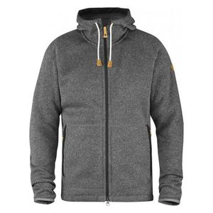 Övik Fleece Hoodie - dark grey