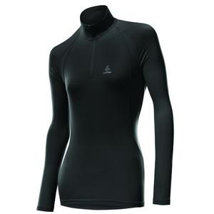 Thermo-Velours Pulli Women - black