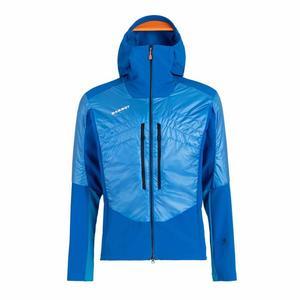 Eisfeld Softshell Hybrid Hooded Jacket - azurit