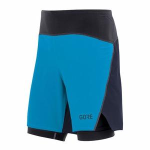 R7 2in1 Shorts - dynamic cyan/orbit blue