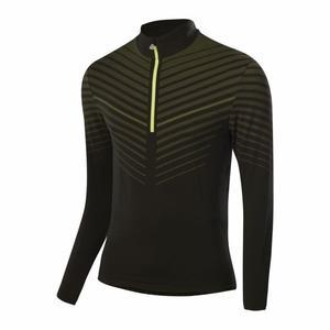 Zip-Sweater Transtex® Hybrid - black/lime