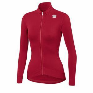 Monocrom Thermal Jersey Women - red rumba