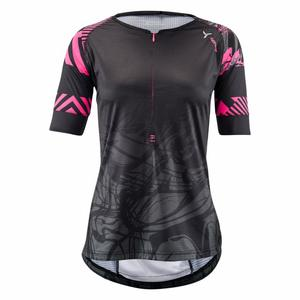 Stabina MTB Shirt Women - black/pink