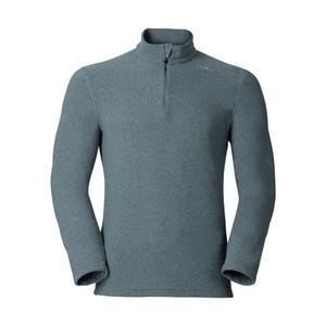 Le Tour 1/2 Zip Midlayer Pullover - grey melange