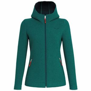 Sarner 2 Layer Wool Hoody Women - greenlake